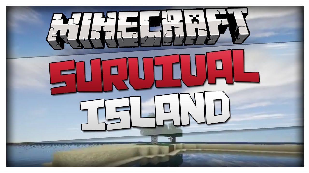 Minecraft 1.8.1 Seed - Small Survival Island with Trees (Works on 1.8 an...