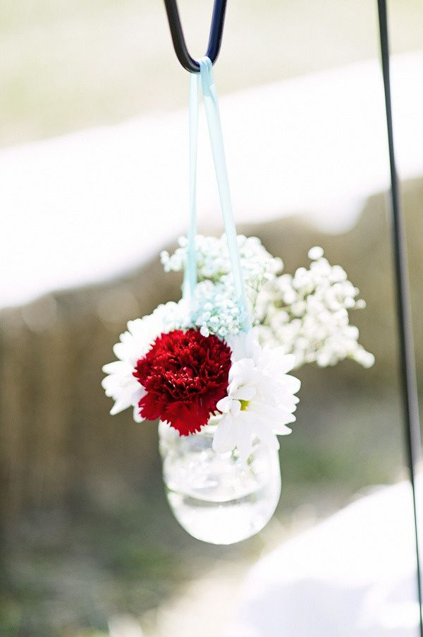 Dcor Flowers Shepherd Hooks And Hanging Vases Wedding