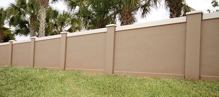 Cement Wall Fence Google Search Cercas