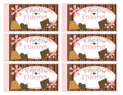 10 Days Of Valentine   Day 4: Su0027more Gift Labels!