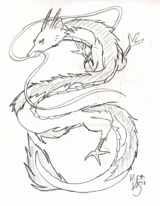 Haku Spirited Away Ghibli Tattoo Nerd Tattoo Dragon Tattoo