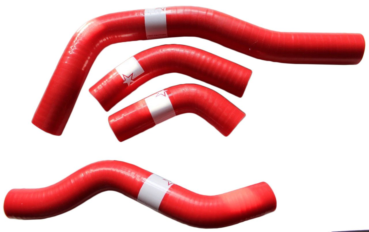 Crf450x Crf 450x Silicone Radiator Hose Kit Pro Factory Red Radiator Hose Hose Radiators