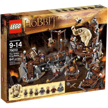 Lego Hobbit The Goblin King Battle Play Set, Multicolor