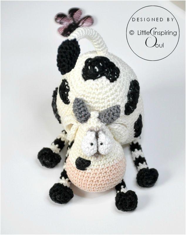 Meuh Meuh The Cow Little Inspiring Soul Crochet Amigurumi