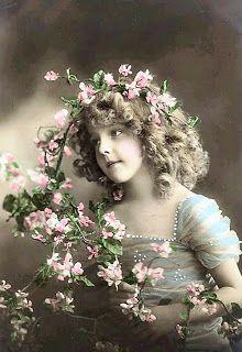 Marjan's scrapcards: Vintage Pictures.