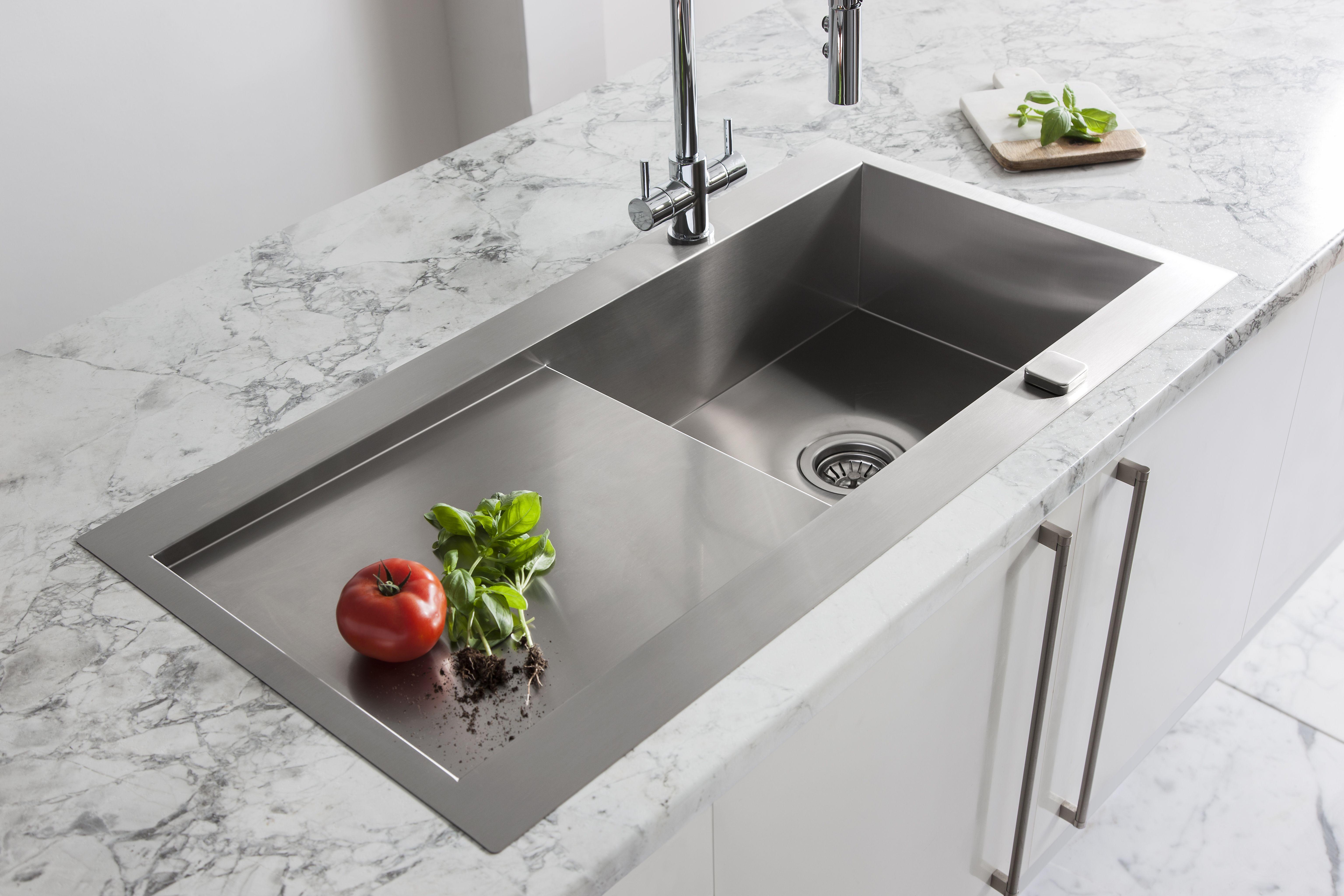 A statement centrepiece for any kitchen - Svelte single bowl kitchen ...