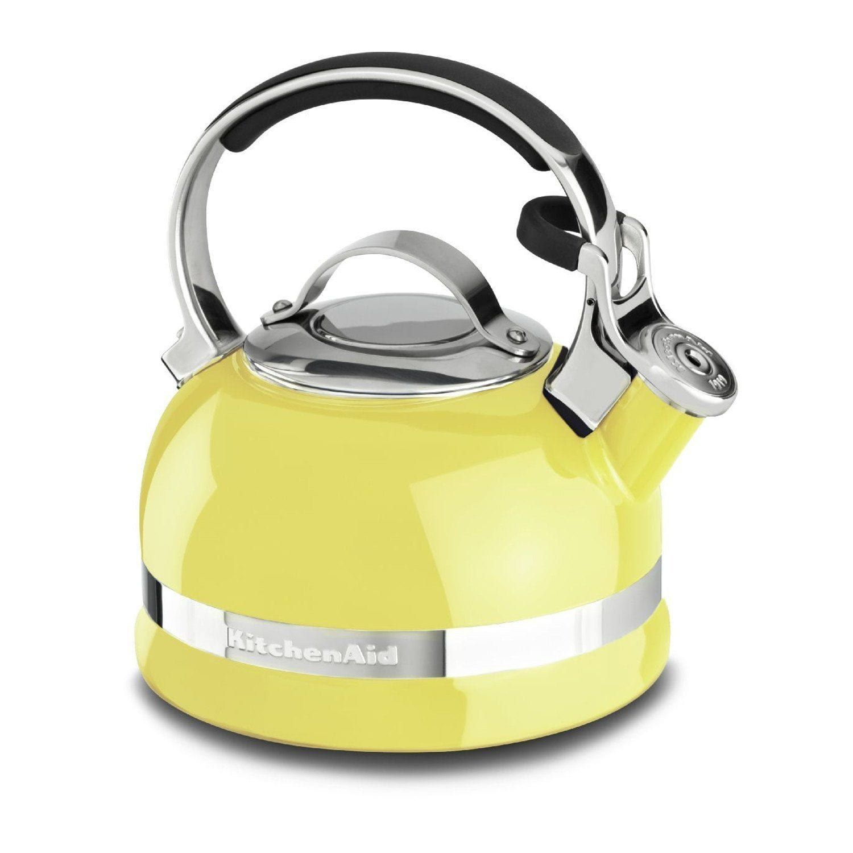 kitchenaid stovetop kettle white