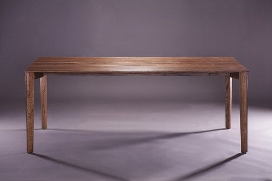 Fin Table By Artisan Restaurant Tables Architonic Solid Wood Furniture Design Table Table Furniture