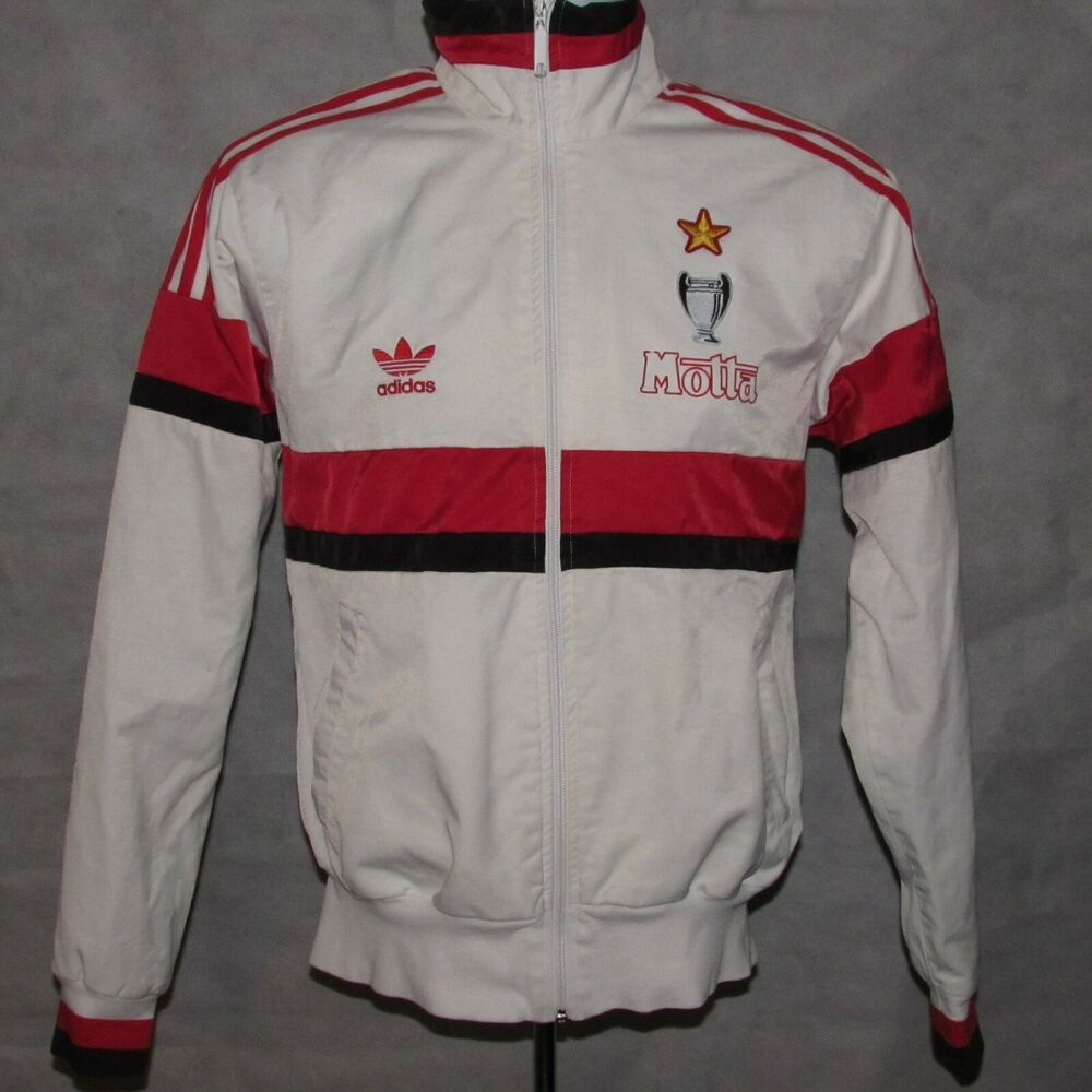 1992 1994 AC Milan Tracksuit Top, Adidas Originals, Medium