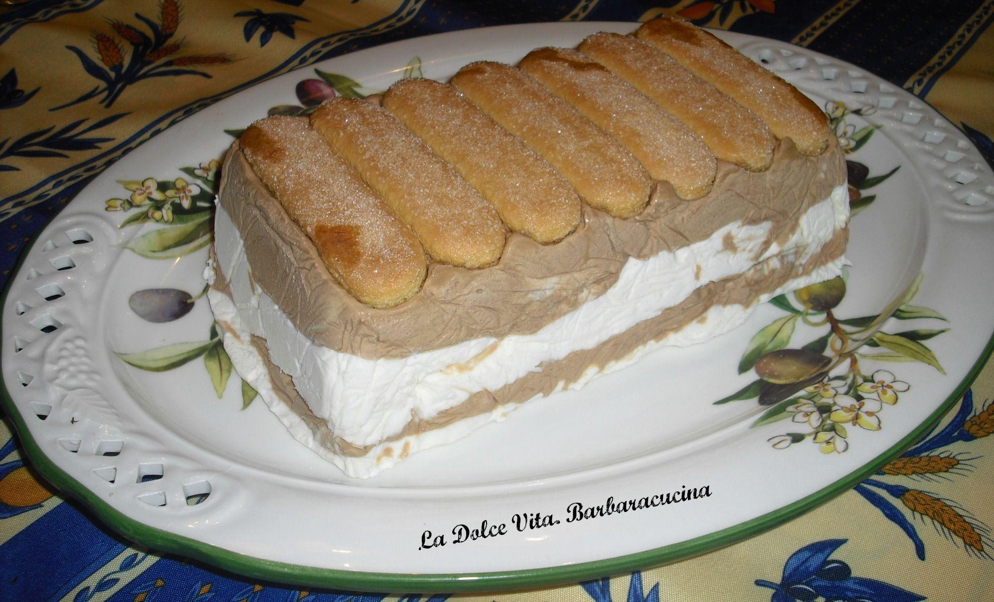 Torta gelata al #caffè e #vaniglia!