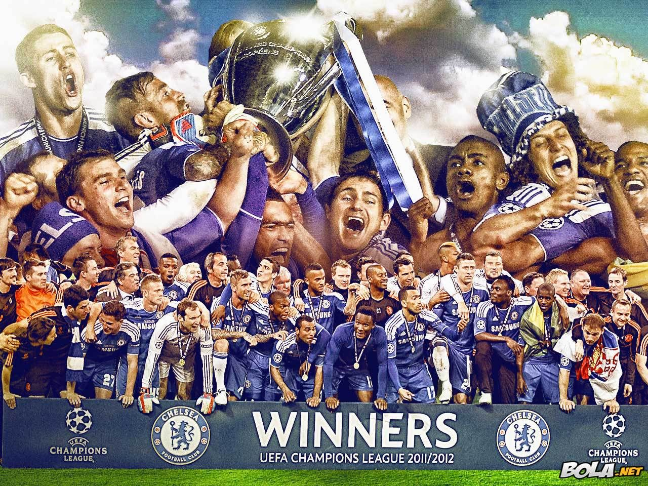 Chelsea Europe Champions Winner Futbol Chelsea Uefa Champions