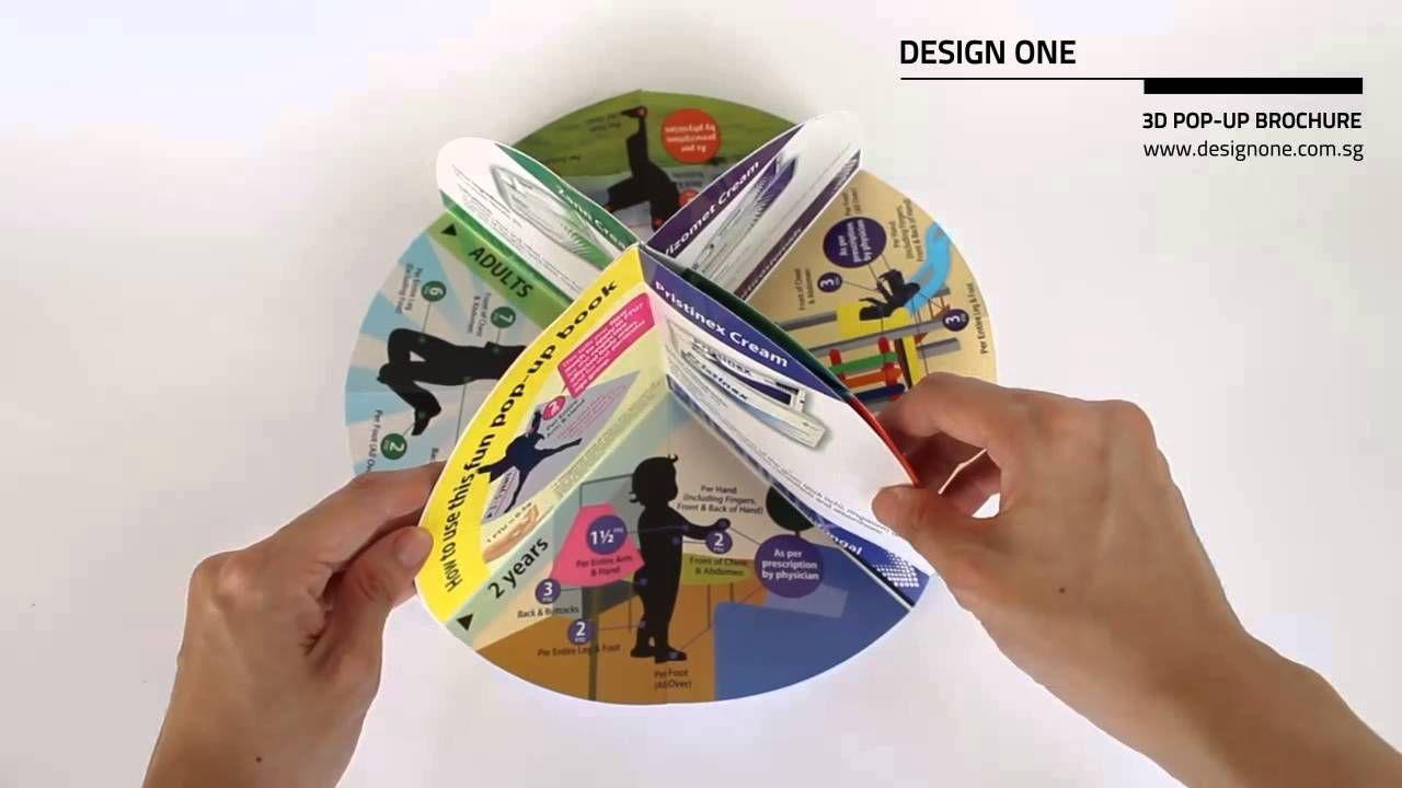 3d brochure design - 3d pop up brochure vga pinterest brochure design