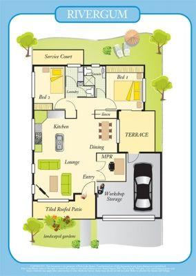 Toowoomba Villa - Palm Lake Resort QLD - Over 50s Living  Lifestyle