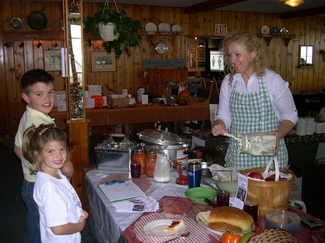 Valerie Hanson of Bygone Basics teaches classes in everything from canning to making homemade butter. These 'old-fashioned' kitchen skills are coming back in vogue.