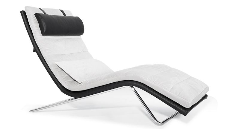 fauteuil-relaxation-volta-design-tissu-cuir-noir-blanc-mobilier