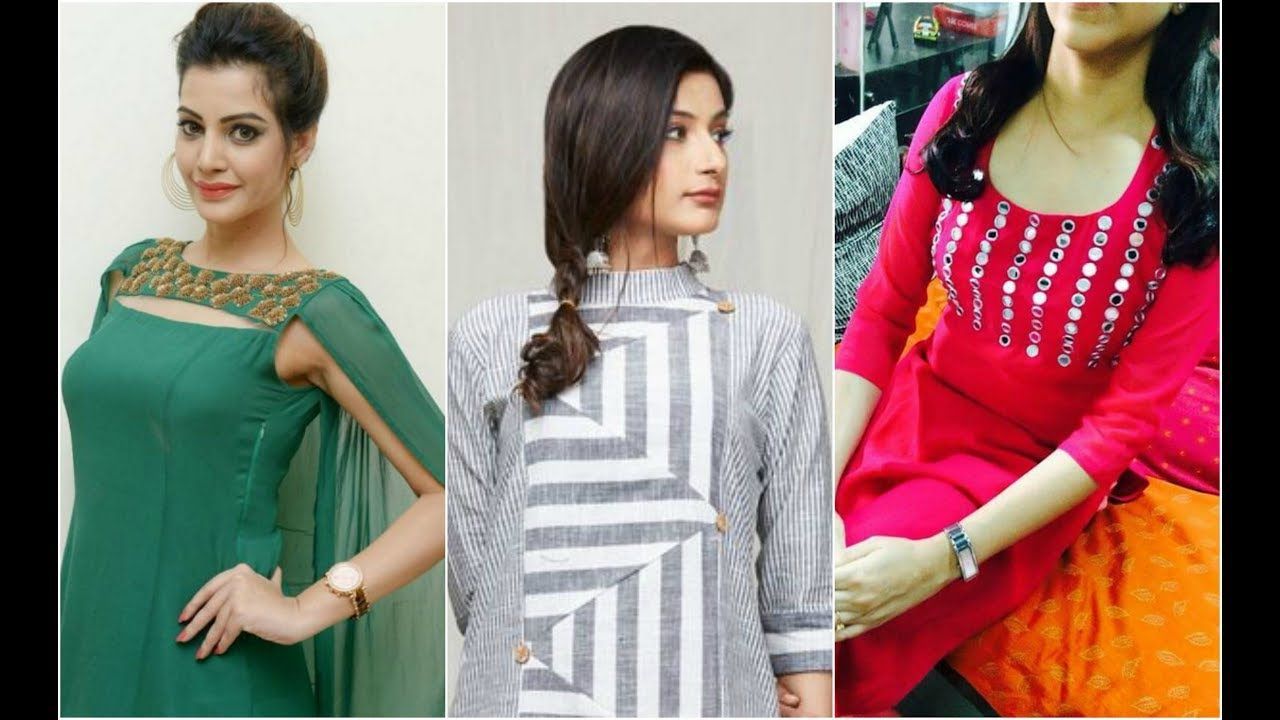 Best 50 New Neck Designs 2018 For Kurties 50 Latest Stylish Neck