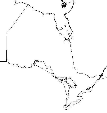 Blank Ontario Map Why the Number of Countries in the World Is a Difficult Question