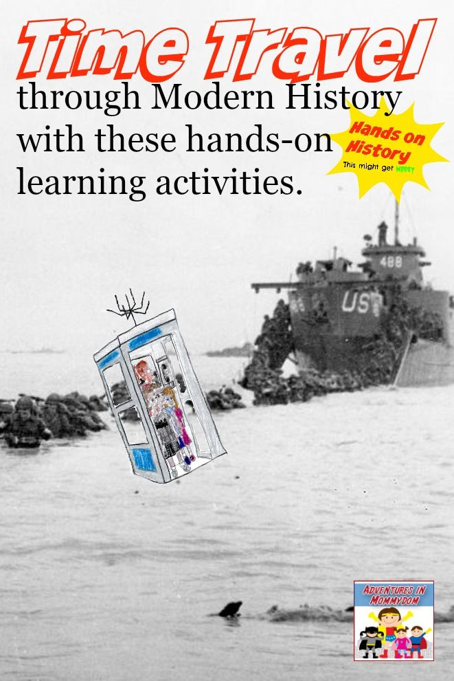 Photo of Modern history lessons for homeschooling hands on history