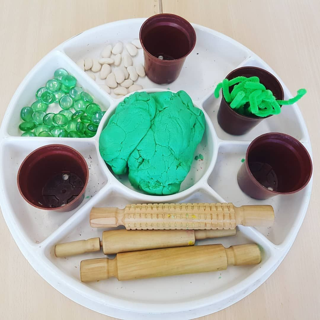 Jack And The Beanstalk Playdough The Children Made