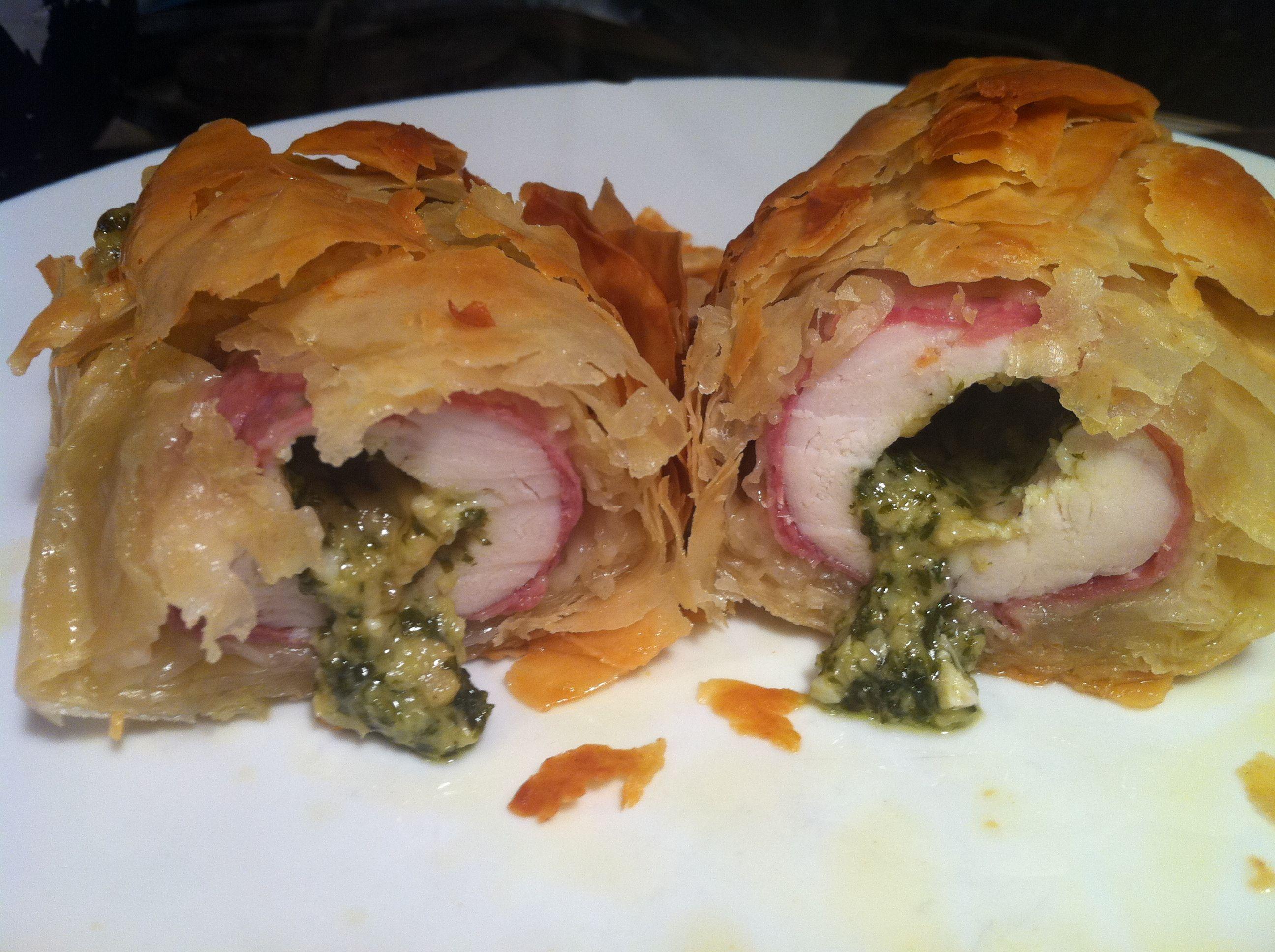 higgidy pesto chicken in filo pastry recipes pesto chicken filo pastry higgidy pesto chicken in filo pastry