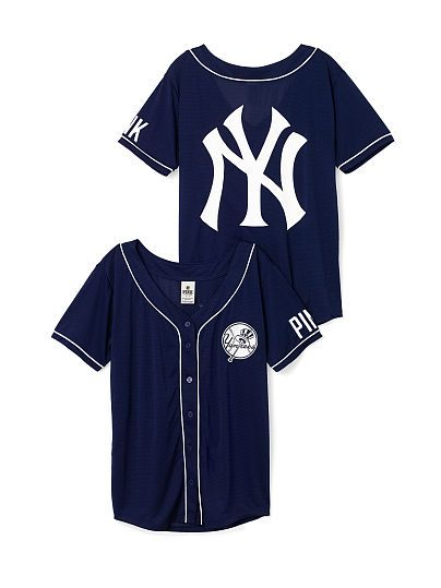 New York Yankees Mesh Jersey PINK  5cb9622e2