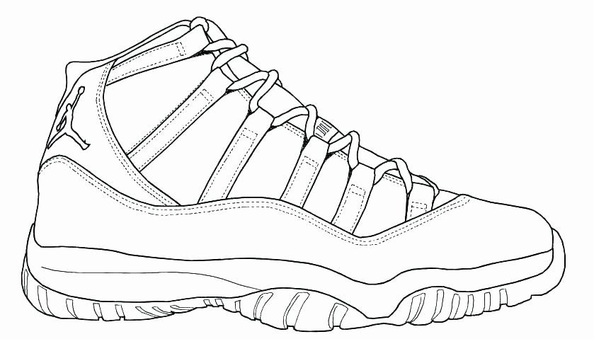 27 Jordan Shoe Coloring Book In 2020 Jordan Coloring Book