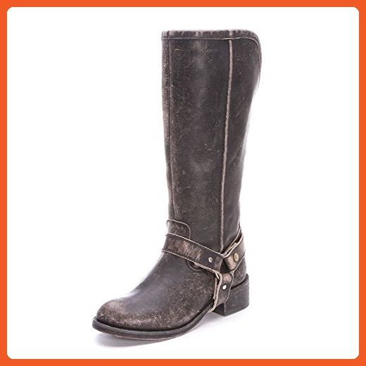 New Corral P5099 Tall & Harness Black Womens Western Boots