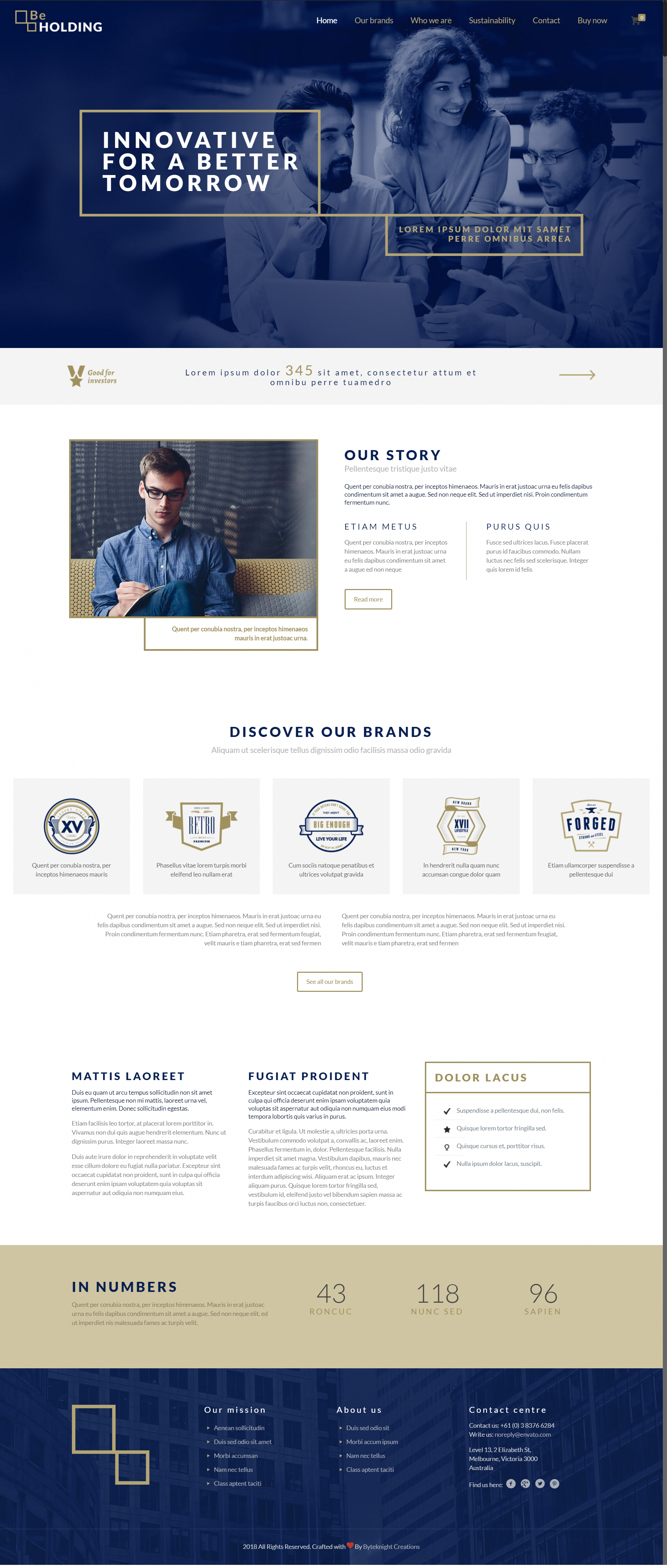 Best Web Designs Templates Themes Holding Company Website Design Demo Byteknightdesigns Bkw Corporate Website Design News Web Design Corporate Web Design