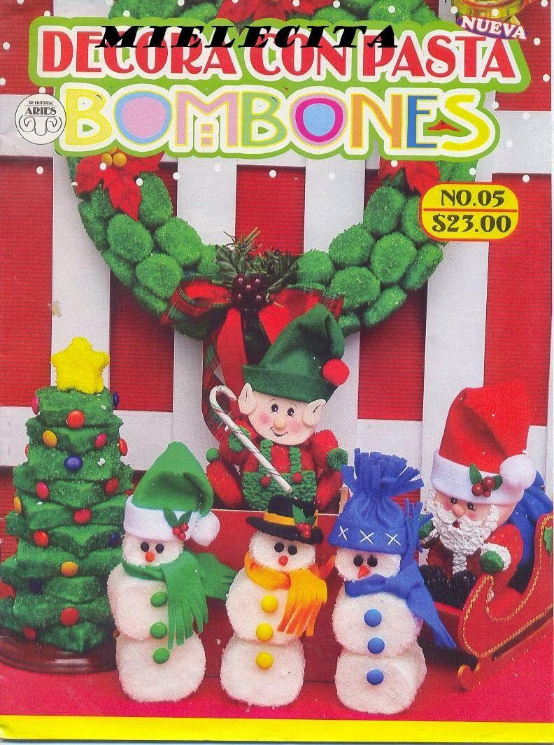 Blog De Santa Clauss Como Hacer Bombones Navidenos Manualidades Manualidades Navidenas Decoracion Navidad Manualidades
