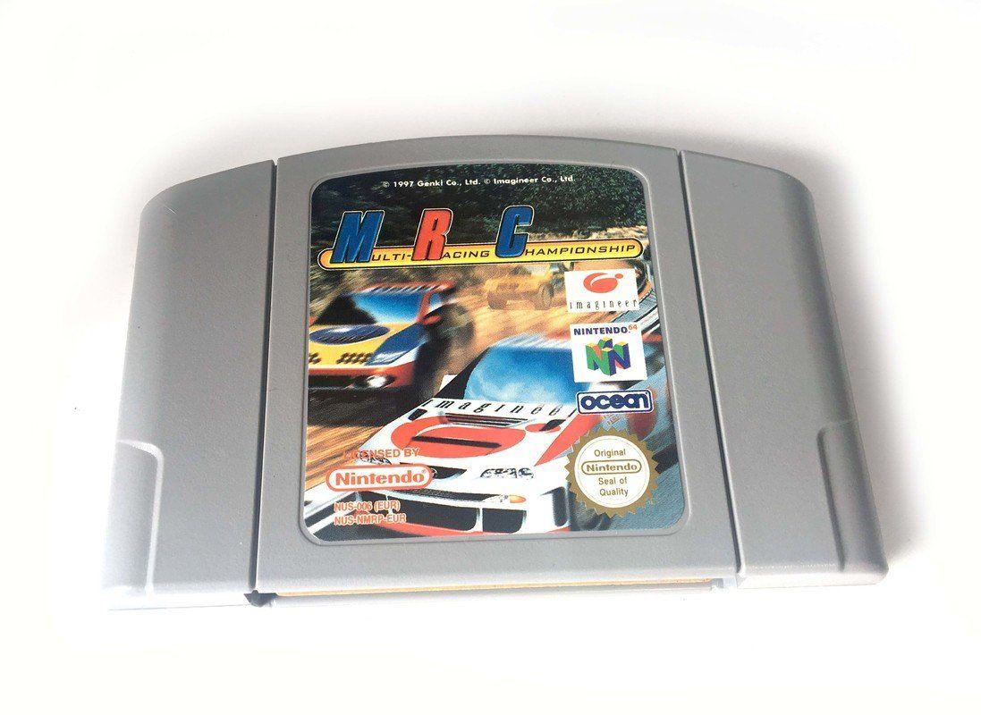 N64 Mrc Multi Racing Championship Nintendo Tv Series En Action