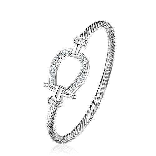 Designer Inspired Knot Mesh Bangle Bracelet Solid Sterling Silver 925 Plated yj3mF