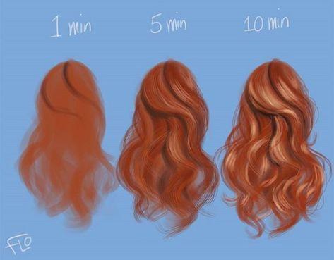 Best How To Paint Hair Acrylic 45 Ideas Photoshop Painting Digital Art Tutorial Digital Painting Tutorials