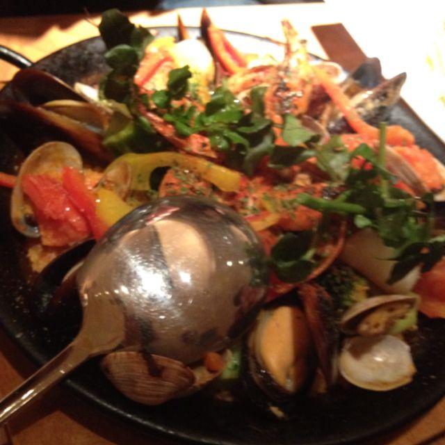 at Spanish reataurant