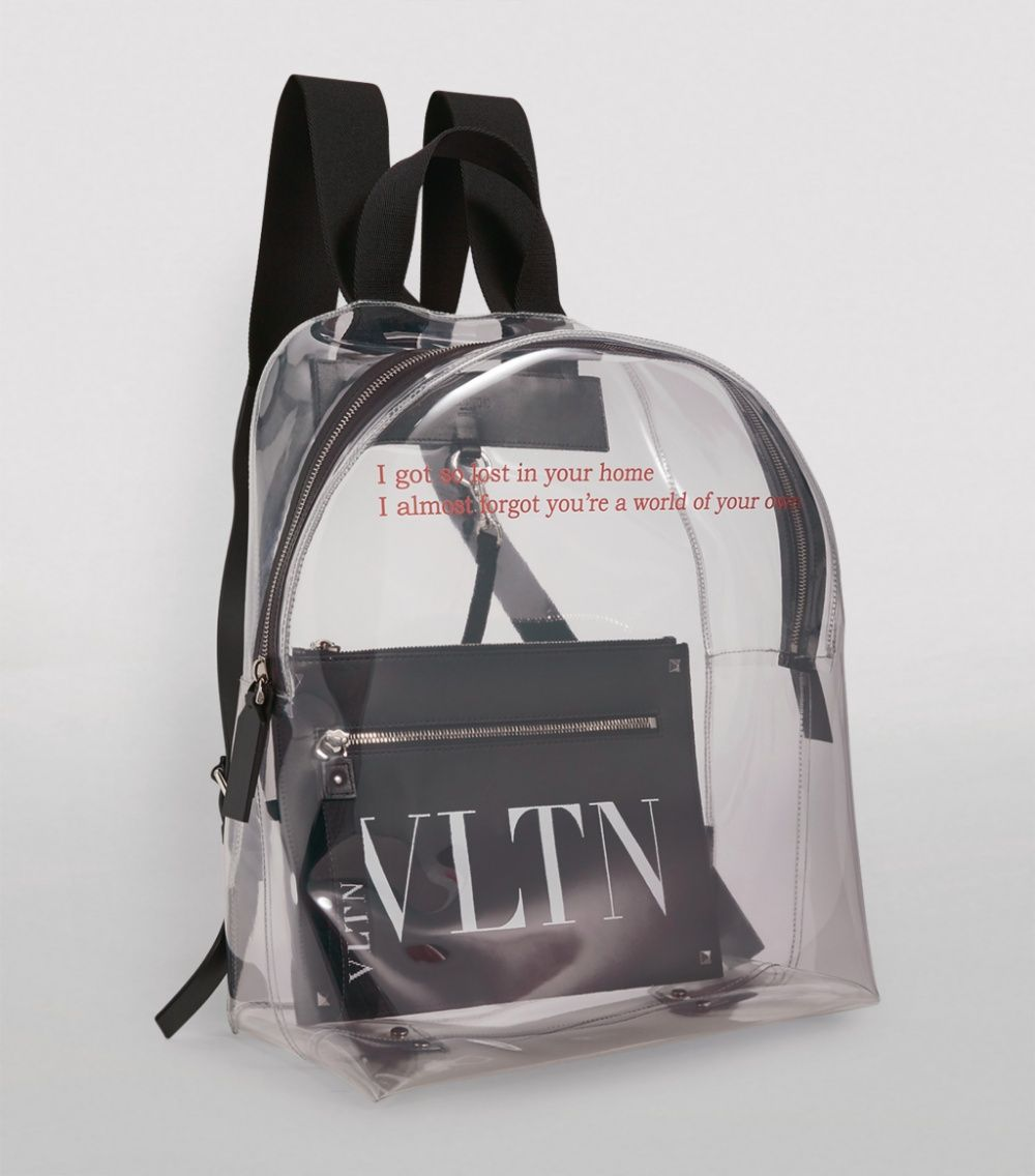 For The Discerning Gentleman Who Has Nothing To Hide Or Rather Things To Show Off Valentino Garavani Presents This In 2020 Valentino Garavani Backpacks Valentino