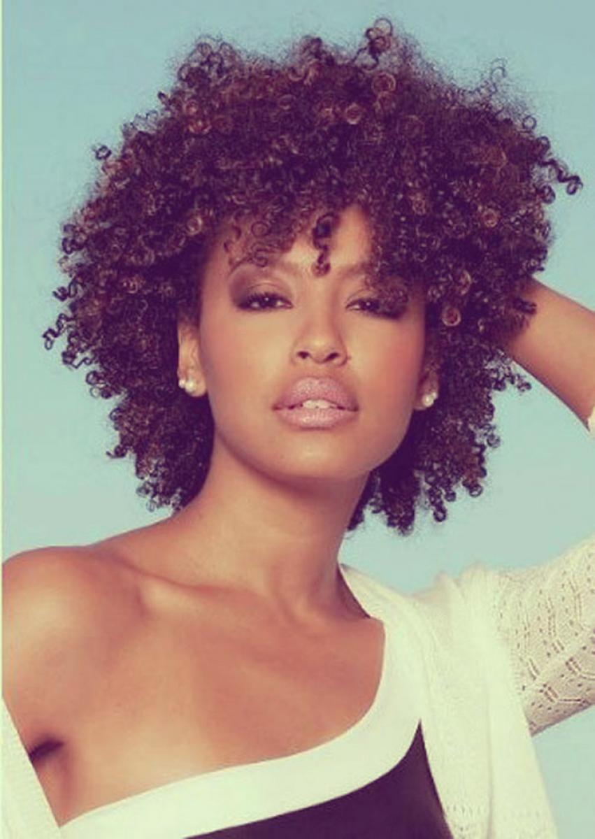 black natural hairstyles 2015 | curly hairstyles for black women
