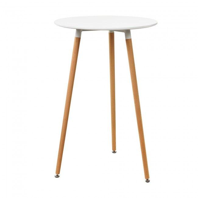En Casa Bartheke Weiss 110x70cm Bartresen Bartisch Stehtisch Theke Retro Tisch Bartisch Retro Tisch Stehtisch