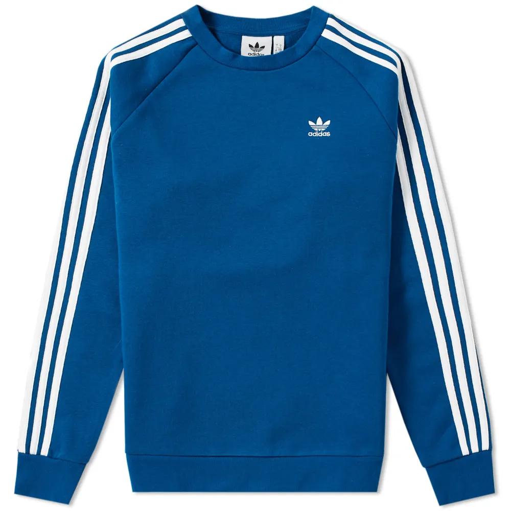 Adidas 3 Stripe Full Zip Hoody   Adidas outfit men, Adidas sweater ...