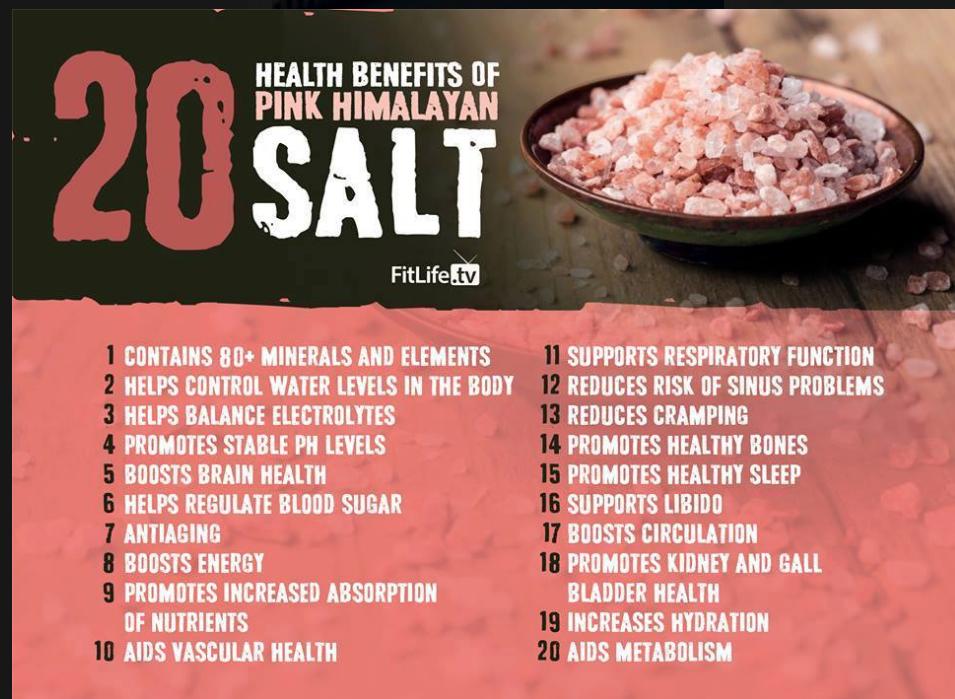 20 Benefits of Himalayan Pink Salt | Himalayan Salt