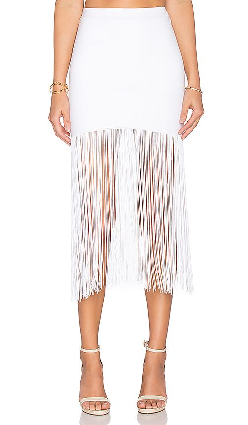 Shop for Karina Grimaldi Ella Fringe Skirt in White at REVOLVE. Free 2-3 day shipping and returns, 30 day price match guarantee. $206