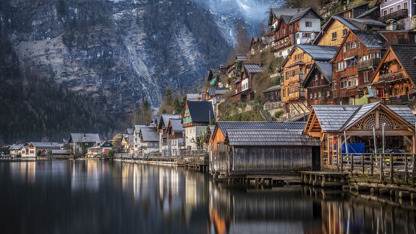 Huge Wallpaper Dump Windows 10 Lock Screen Images 1920 X 1080 Hallstatt Beautiful Places To Travel Beautiful Mountains