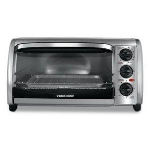 Black Decker 4 Slice Toaster Oven Toaster Oven Stainless