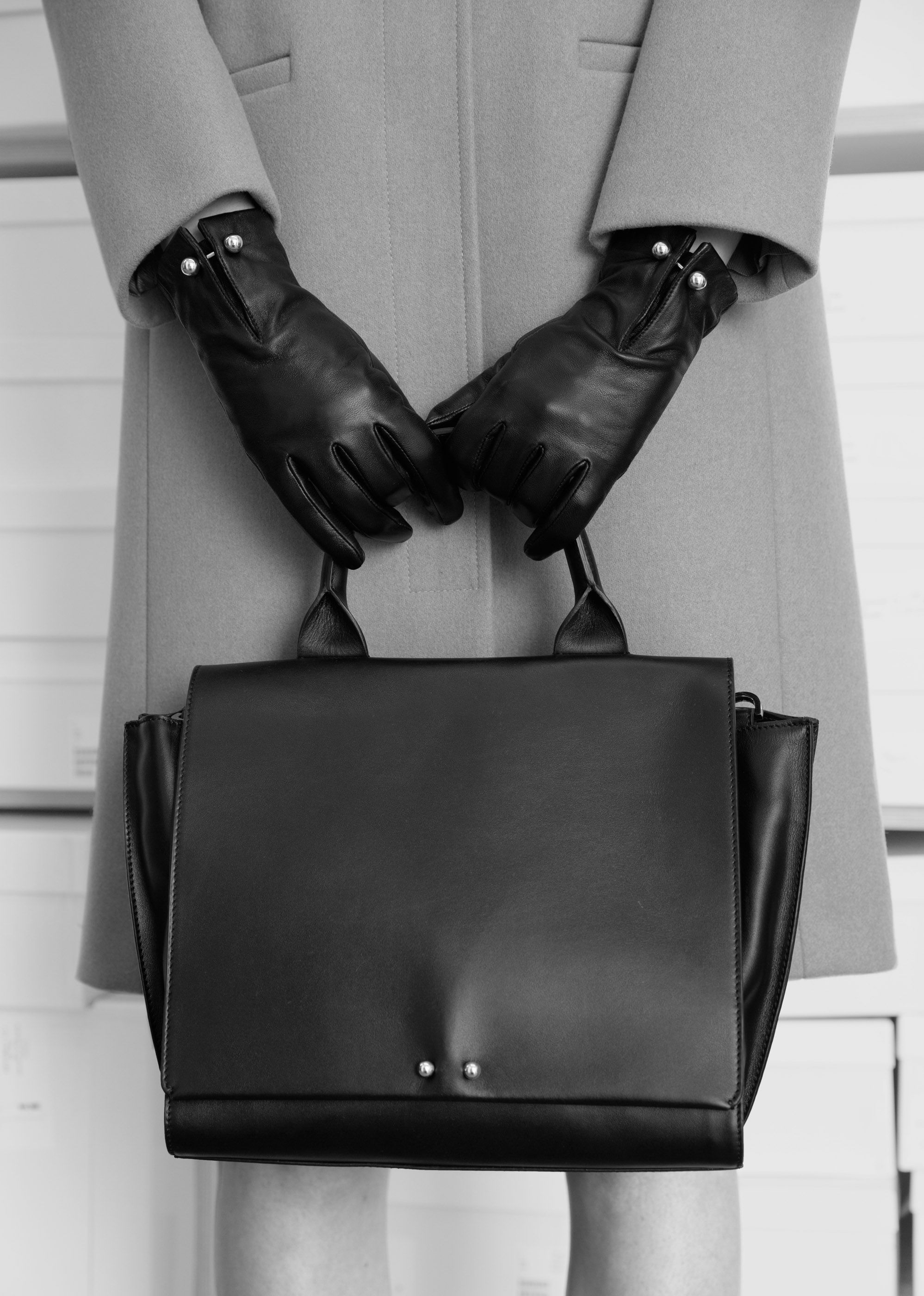 Lend some edge to your everyday wardrobe with stud detailed bags and accessories.