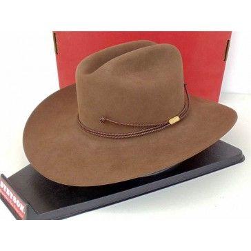 Stetson Cowboy Hat 4X Beaver Fur Felt Acorn Carson SF04621136 ... ad3d181c801