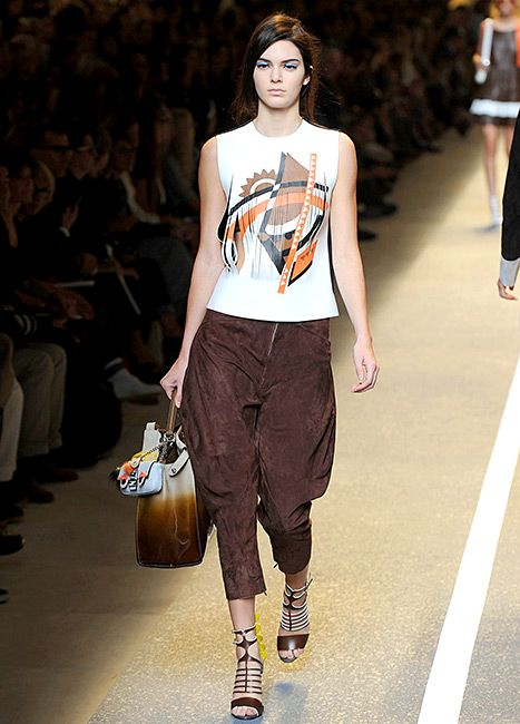 There's no stopping her! Kendall Jenner jetted to Italy to take Milan Fashion Week by storm!