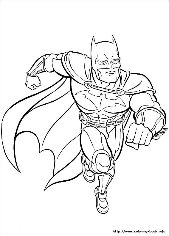 Batman coloring picture colouring pages Pinterest Coloring