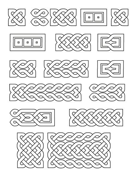 Printable Small Celtic Knots Literary Spring Designs Celtic Patterns Celtic Knot Designs Celtic Knot