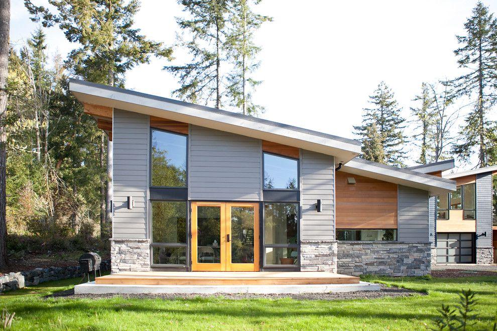 Image Result For Modern Gray Vinyl Siding Modern Exterior House