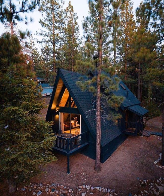 9 Beautiful DIY Tiny Homes | Cabin homes, A frame cabin, Cabins and cottages