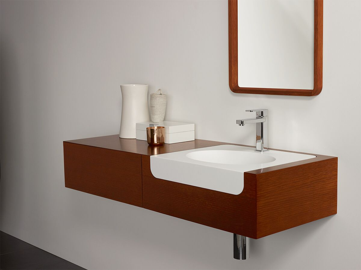 Cibo uber 1200 wall hung vanity from reece - Issy Custom Vanity From Reece And Mirror