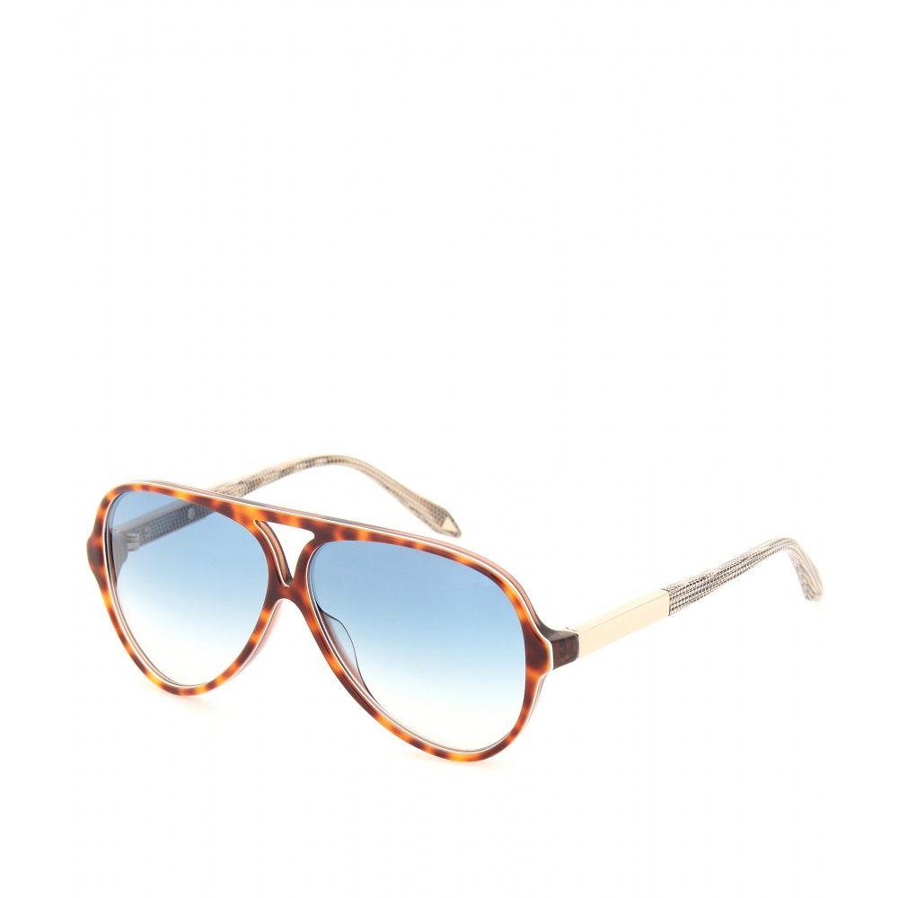 a0be6358aa Keyhole Aviator Sunglasses ∫ Victoria Beckham   mytheresa